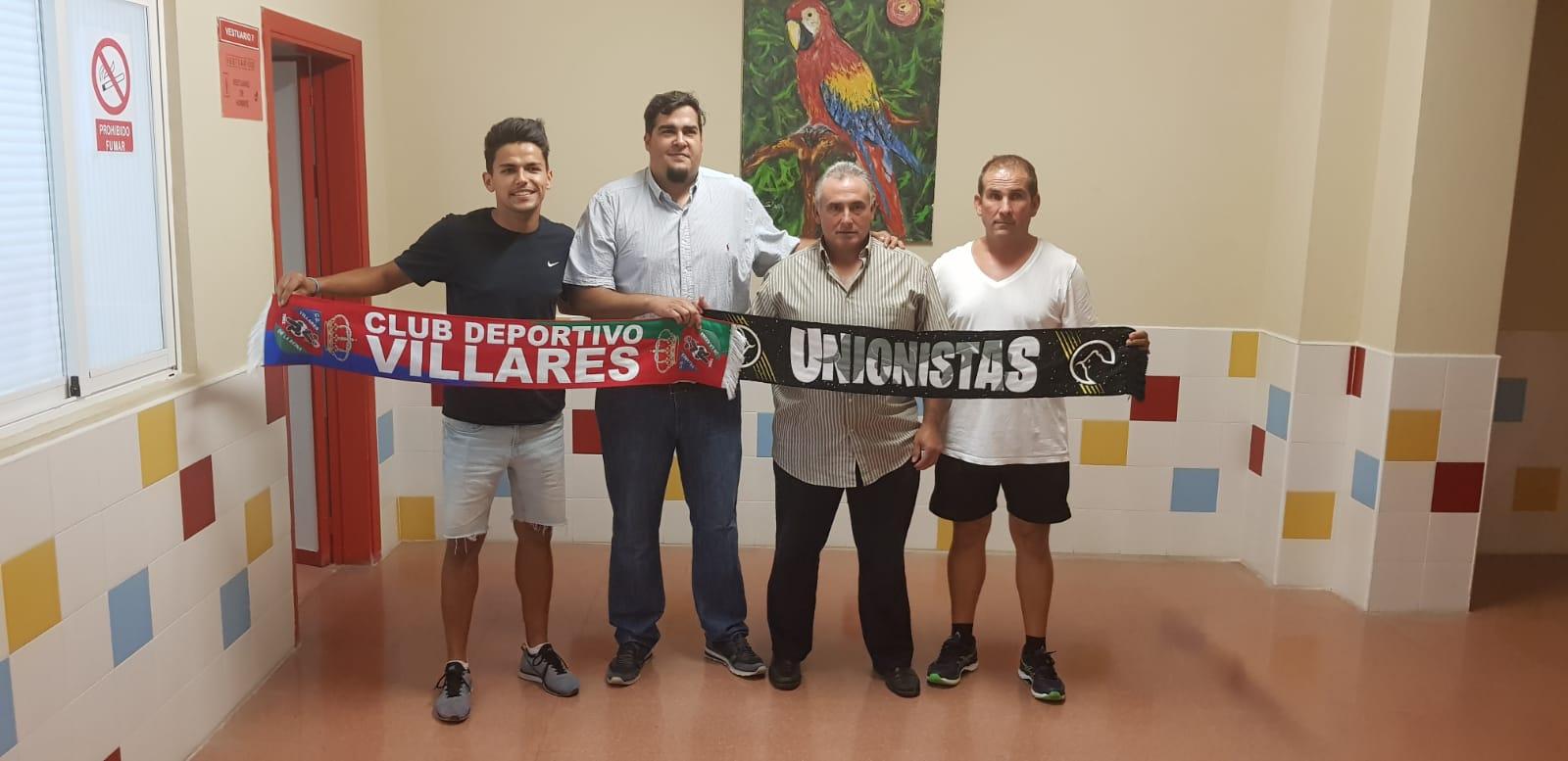 ACUERDO UNIONISTAS DE SALAMANCA CF Y CD VILLARES DE LA REINA