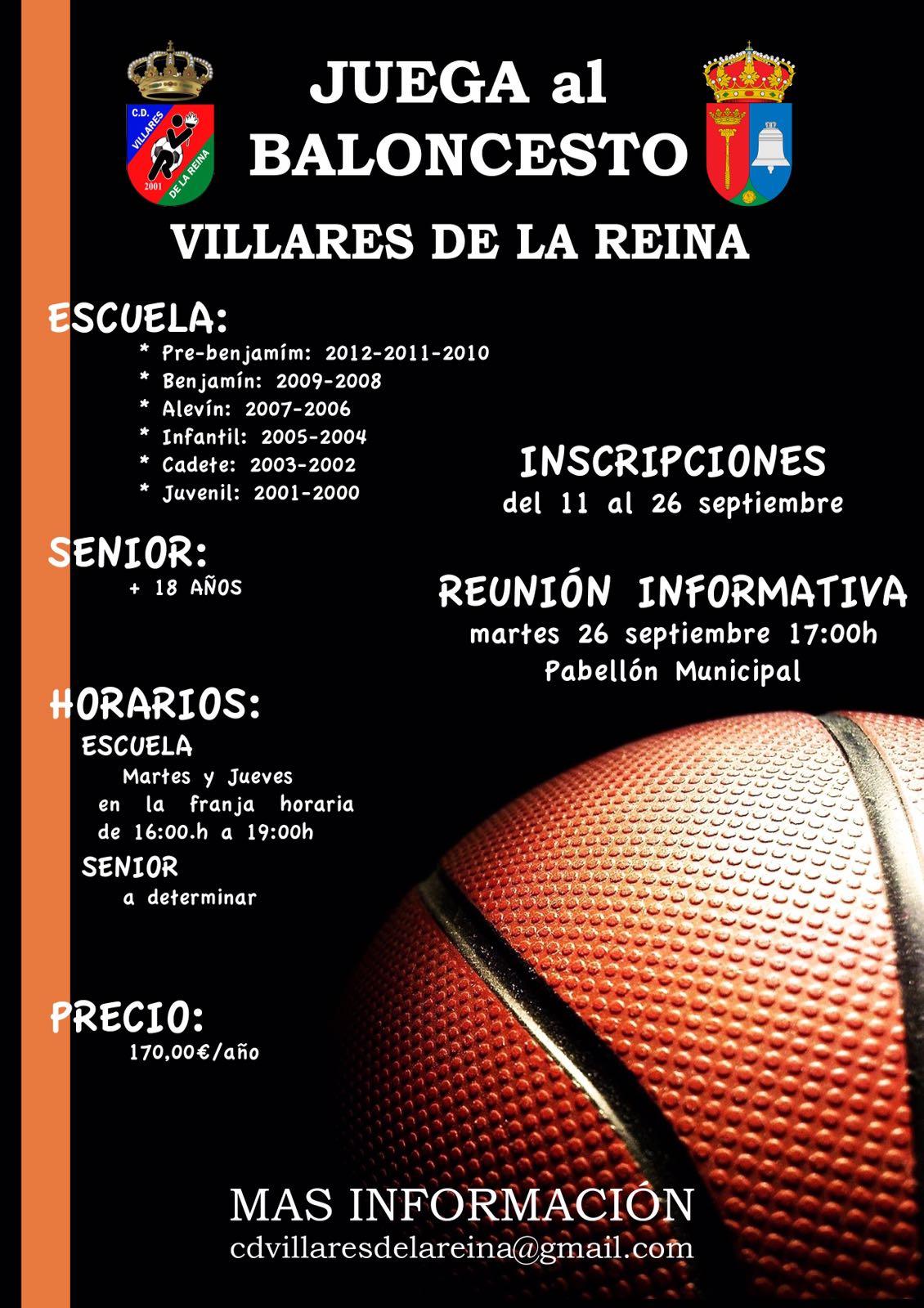Inscripci�nes Baloncesto